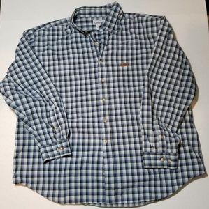 Carhartt 100% cotton button down longsleeve shirt